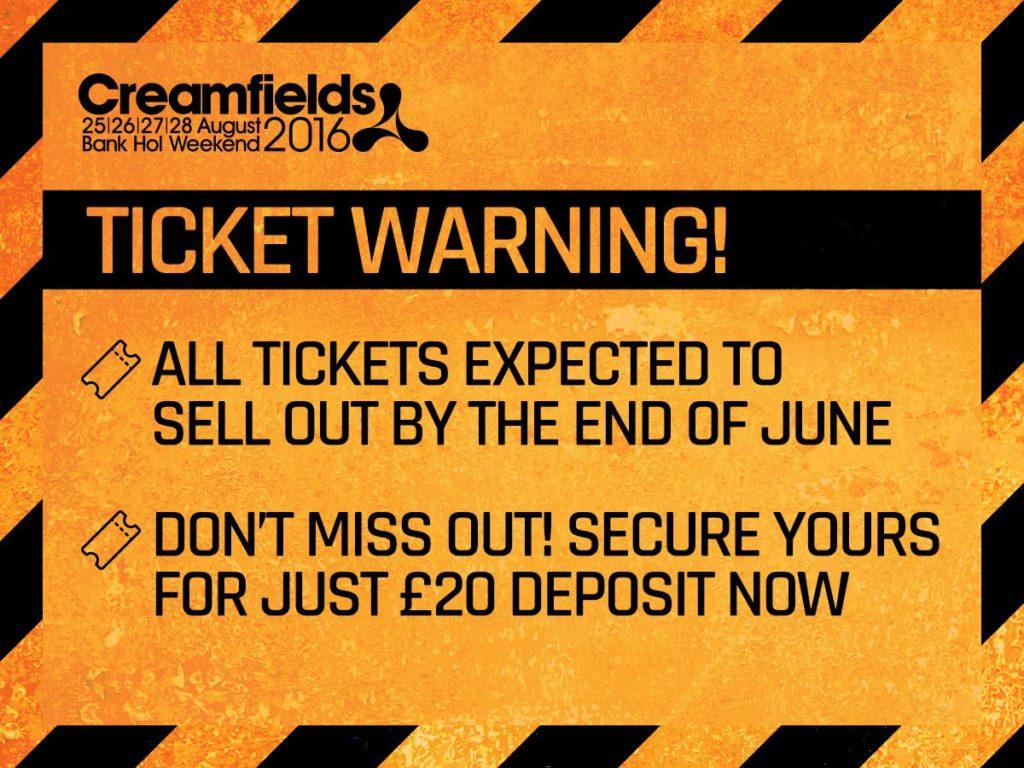 scritta attenzione ai biglietti - tutti i biglietti saranno venduti entro giugno - non perdere la tua occasione prenota con solo ventri dollari di deposito
