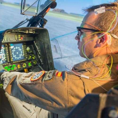 neuroergonomia: test su pilota al comando di un elicottero
